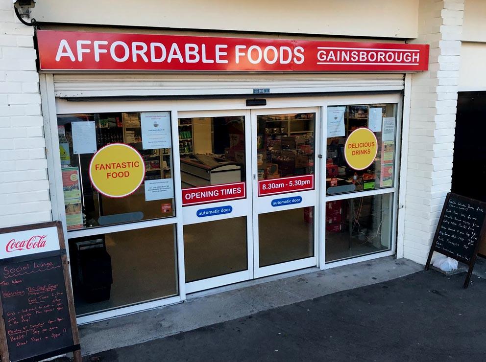 Affordable Foods Gainsborough